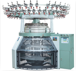 Komputerisasi Elektronik Jacquard Circular Knitting Machine, Quick Switch 2/3 Cara